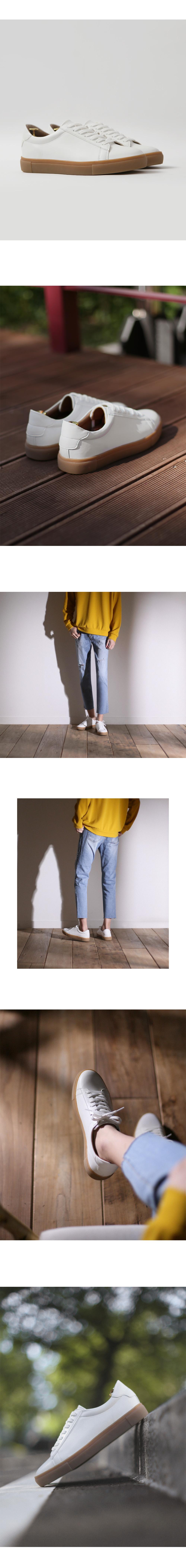 [파스코로젠 리미티드] 스탠다드 디자인 스니커즈 크림슨 화이트