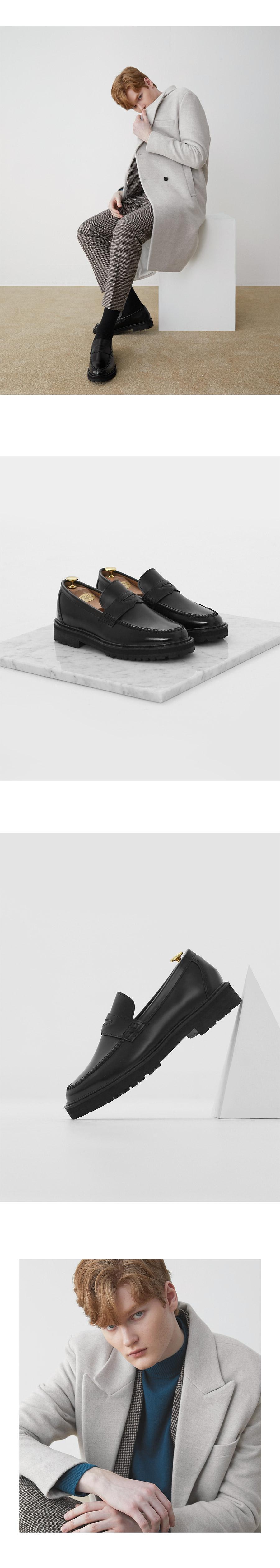 위더로드(WETHEROAD) WTRD2101 에단 페니로퍼 블랙 [240~300mm]