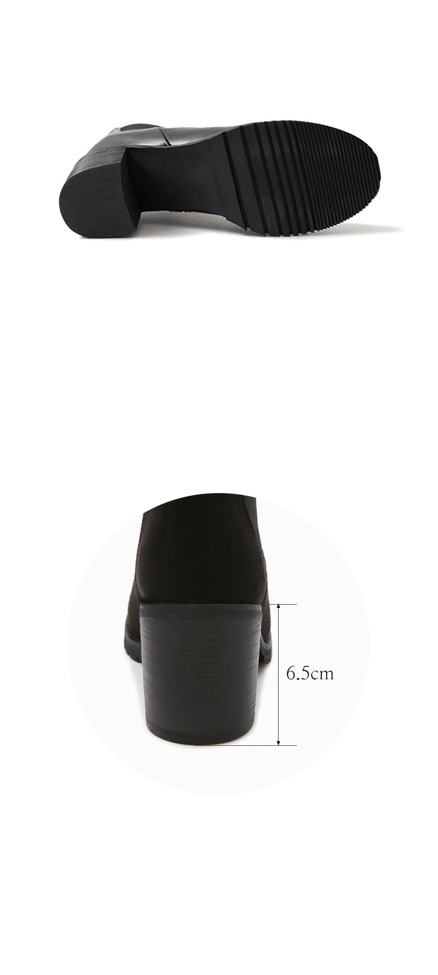 데일리슈 Mia Chelsea Boots (6.5cm)